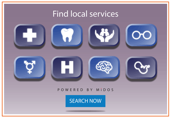 Find services in your local area - MiDOS